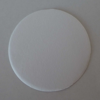 Filter glass d=70mm VE100, binder-free