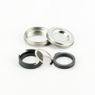PGP cassette metal in metal box, diameter: 37mm incl. support sieve