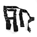Carrying strap, textile colour black (100%...