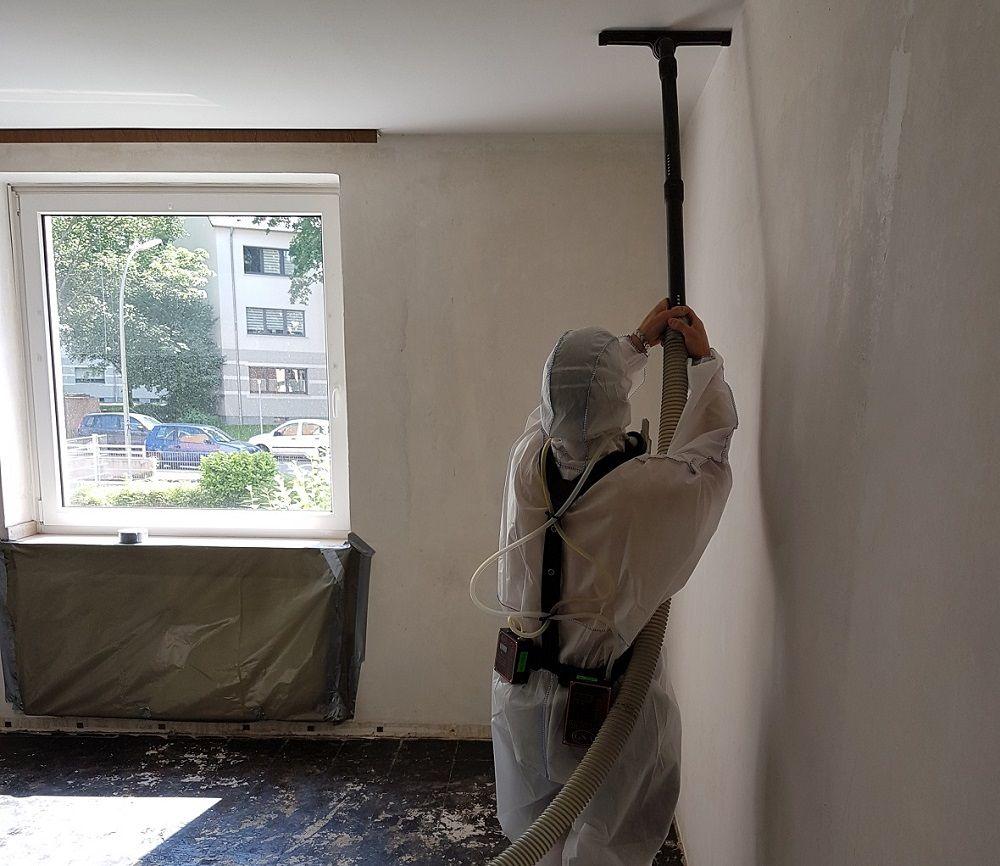 Personengetragene Messung bei Asbestsanierung